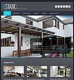 Real Estate Facebook HTML CMS  Template 42391