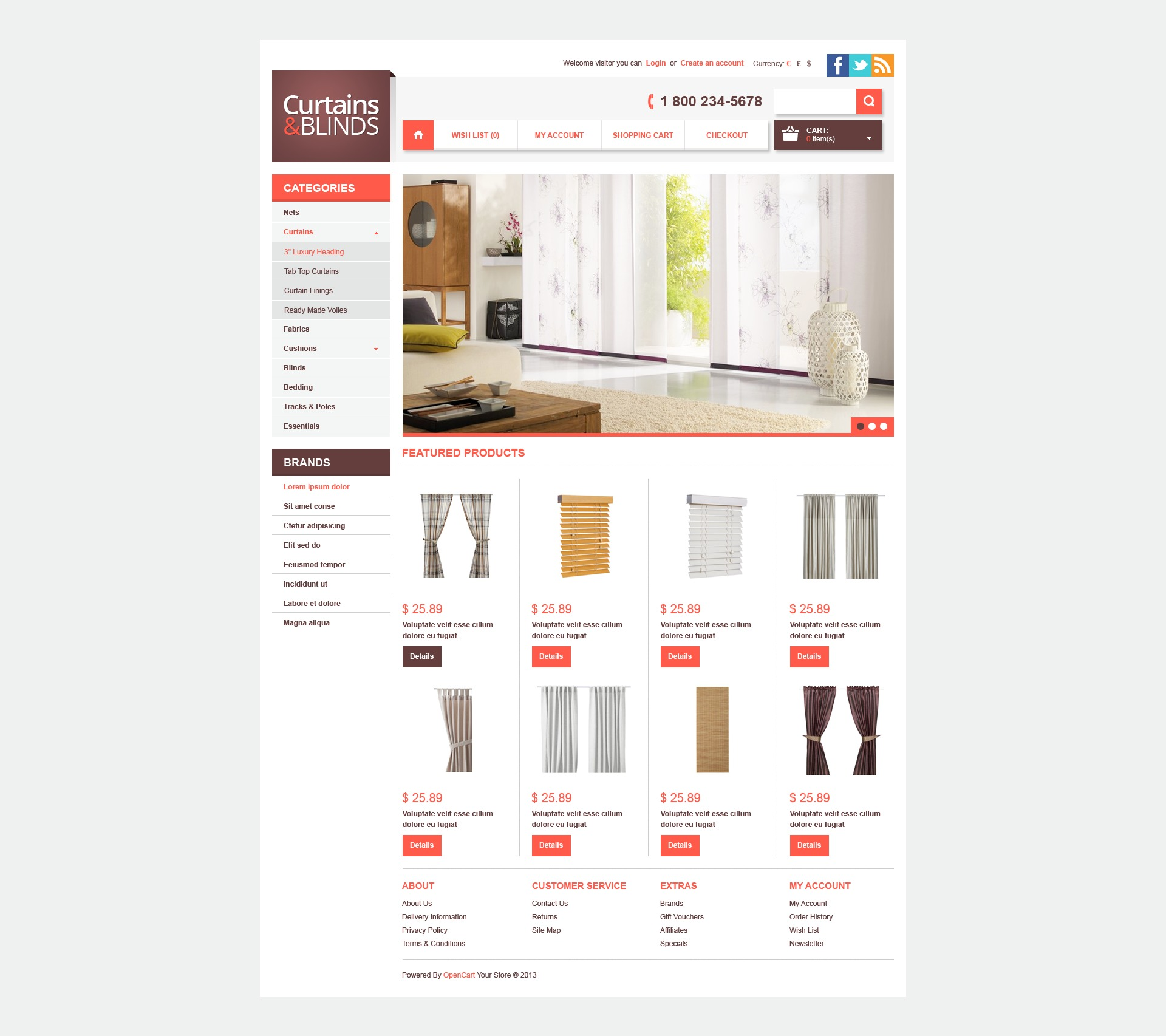 Curtains blinds opencart template 42313 curtains blinds opencart template pronofoot35fo Image collections