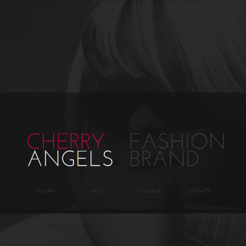 Cherry Angels - Facebook HTML CMS Template
