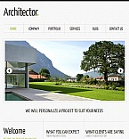 Architecture Facebook HTML CMS  Template 42406