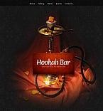 Cafe & Restaurant Facebook HTML CMS  Template 42409