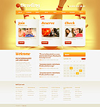 Sport Website  Template 42413