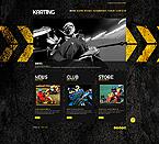 Sport Website  Template 42414