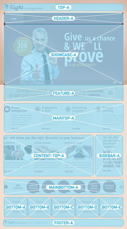 Joomla Theme/Template 42422 Main Page Screenshot
