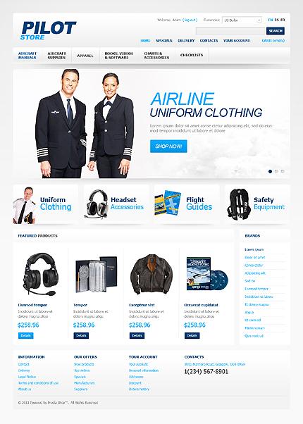 ADOBE Photoshop Template 42430 Home Page Screenshot