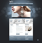Jewelry Website  Template 42433