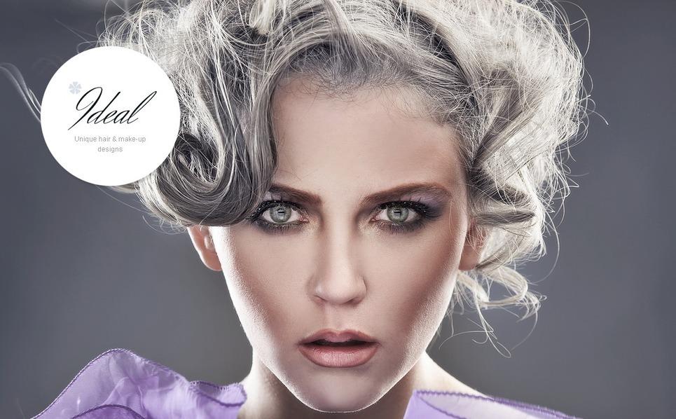 Website Vorlage für Schönheitssalon  New Screenshots BIG