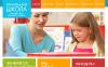 Premium Moto CMS HTML-mall för förskola New Screenshots BIG