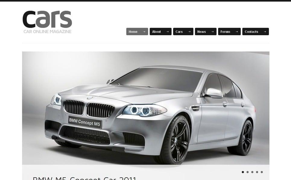 Premium Arabalar  Moto Cms Html Şablon New Screenshots BIG