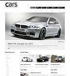 Cars Moto CMS HTML  Template 42457