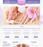 Beauty Moto CMS HTML  Template 42459