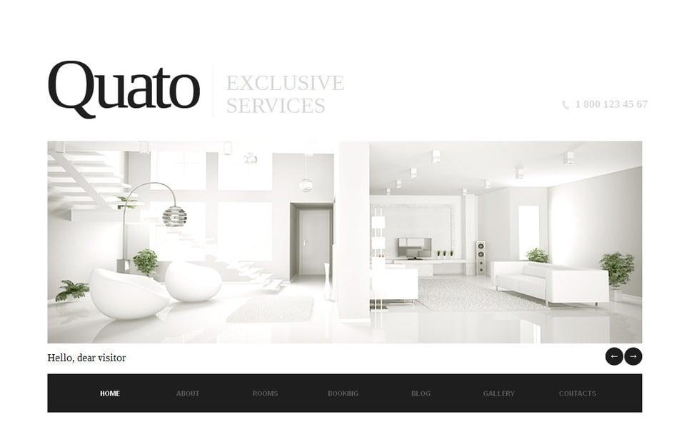 Tema Moto CMS HTML  #42468 per Un Sito di Hotel New Screenshots BIG