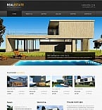 Real Estate Moto CMS HTML  Template 42474