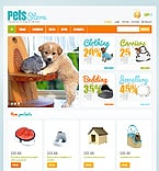 Animals & Pets Jigoshop Template 42482