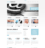 Communications Website  Template 42485