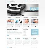 Communications Website  Template 42485