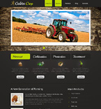 Agriculture Website  Template 42493