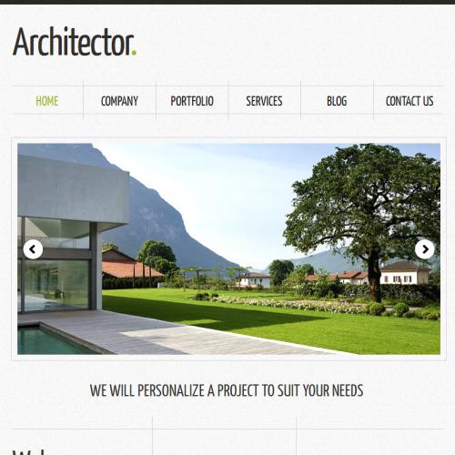 Architector - Facebook HTML CMS Template