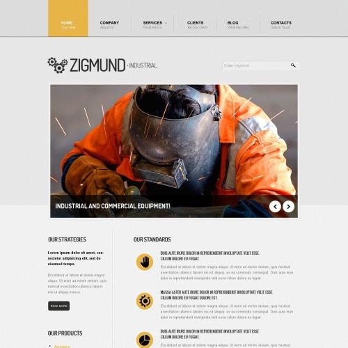 Zigmund - Drupal Template