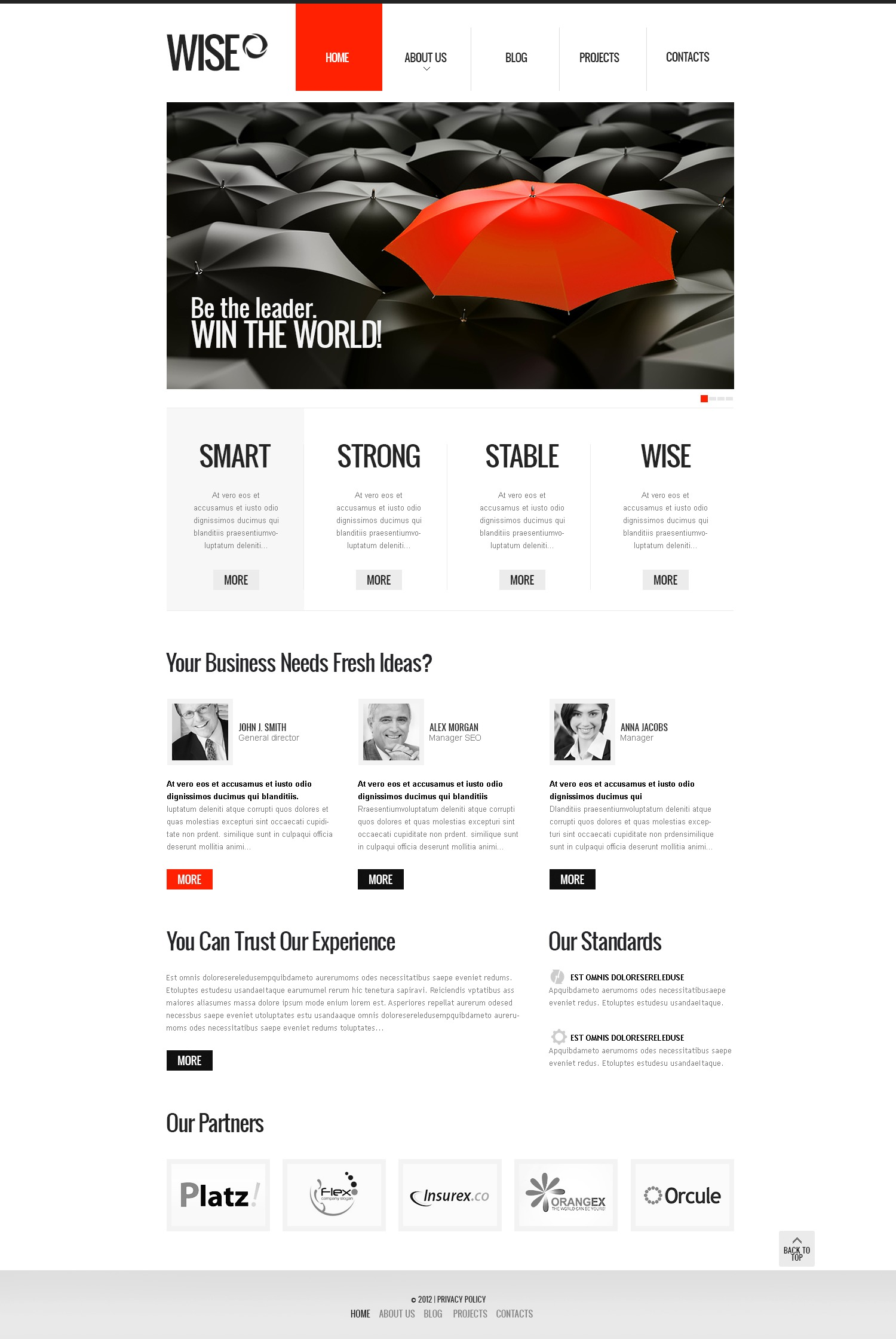 Inspiring Business Drupal Template