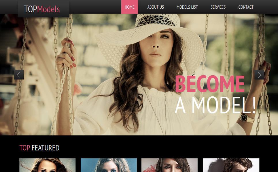 Modello Moto CMS HTML  #42464 per Un Sito di Agenzia e New Screenshots BIG