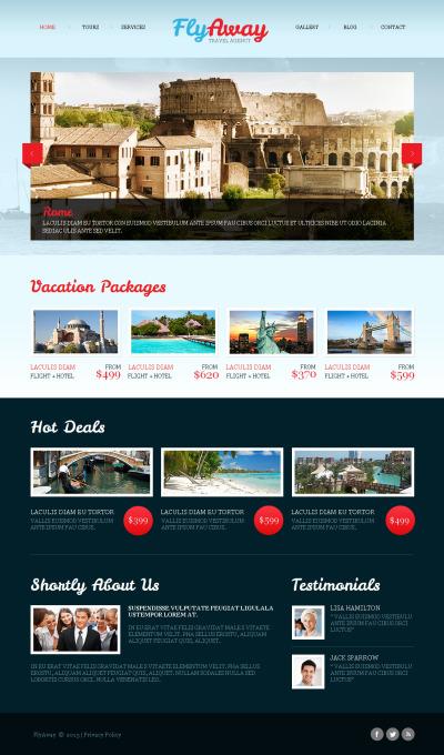 Plantilla Moto CMS HTML #42461 para Sitio de  para Sitio de Agencias de viajes