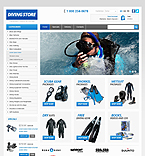 Sport PrestaShop Template 42505