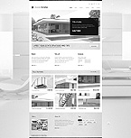 Real Estate Website  Template 42510