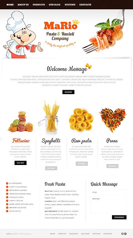 Joomla Theme/Template 42511 Main Page Screenshot