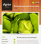 Agriculture Facebook  Template 42514
