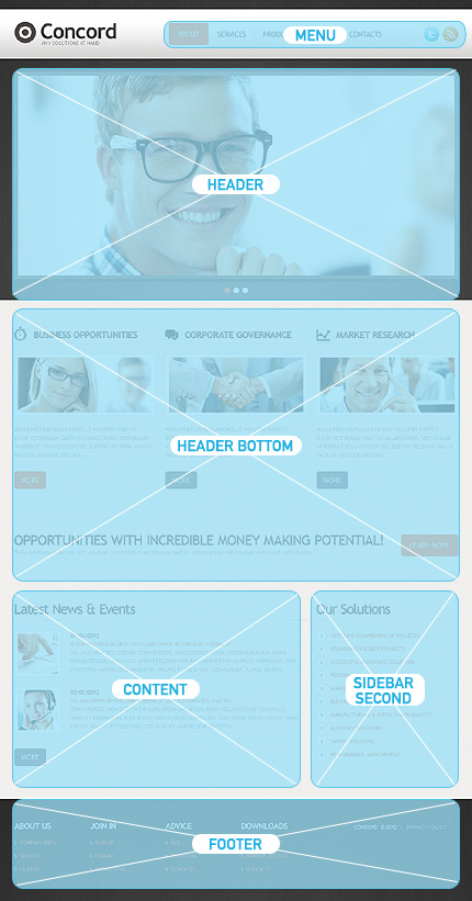 Drupal Template 42516 Main Page Screenshot