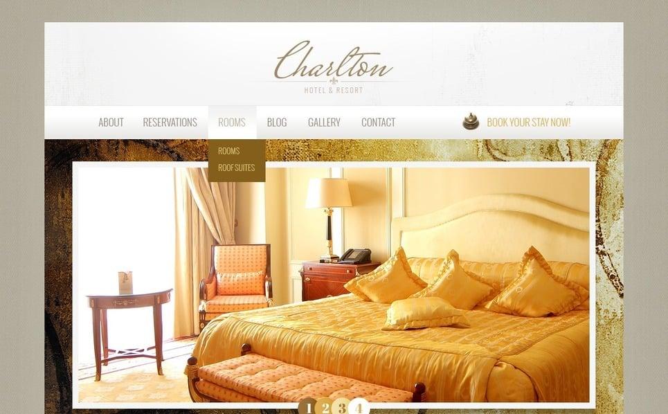 Drupal Template over Hotels  New Screenshots BIG