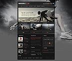 Sport Website  Template 42520
