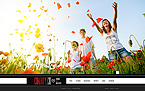 Charity Website  Template 42529