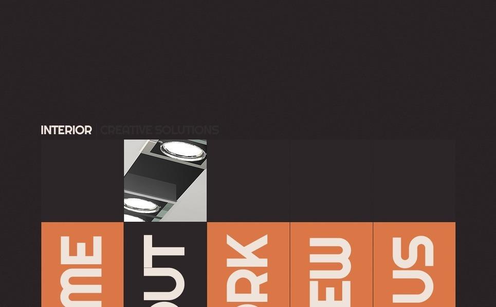 Website Vorlage für Innenarchitektur  New Screenshots BIG