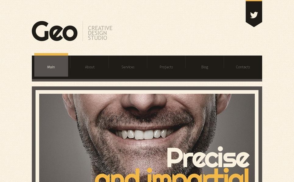 Template Joomla  #42547 per Un Sito di Design Studio New Screenshots BIG
