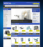 Medical OpenCart  Template 42550