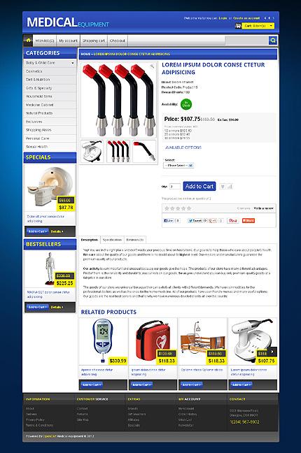 ADOBE Photoshop Template 42550 Home Page Screenshot