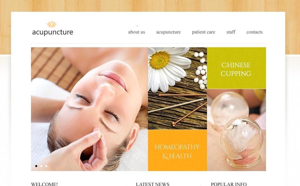 Modello Siti Web  #42557 per Un Sito di Settore Medico New Screenshots BIG