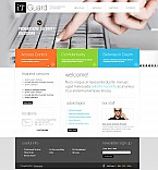 Security Flash CMS  Template 42568