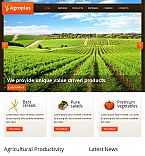 Agriculture Facebook HTML CMS  Template 42570