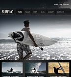Sport Facebook HTML CMS  Template 42580
