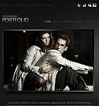 Art & Photography Facebook HTML CMS  Template 42583