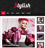 Fashion Facebook HTML CMS  Template 42584