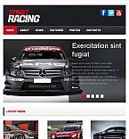 Cars Facebook HTML CMS  Template 42590