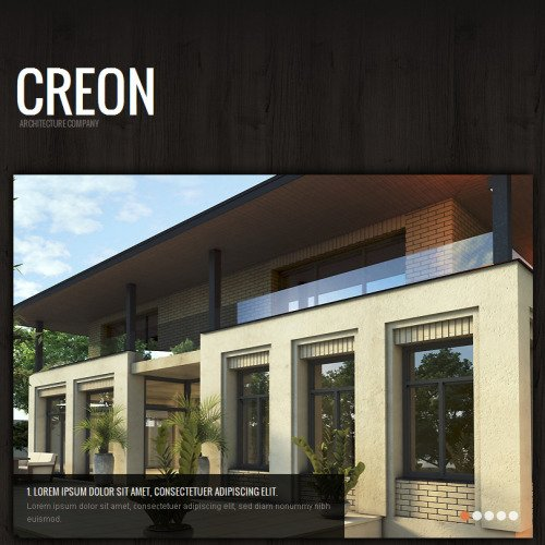 Creon - Facebook HTML CMS Template