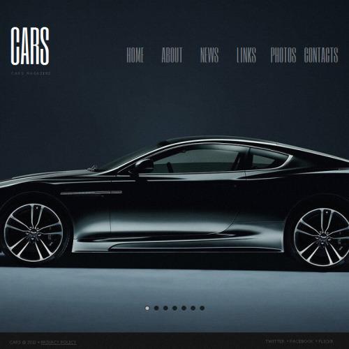 Cars - Facebook HTML CMS Template