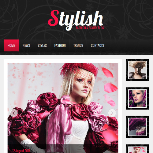 Stylish - Facebook HTML CMS Template