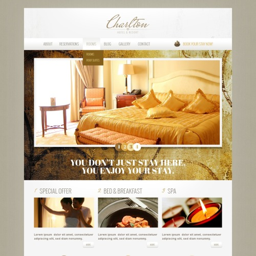 Charlton - Drupal Hotel Template