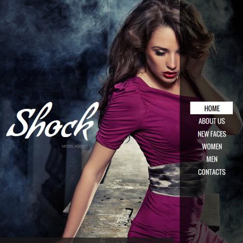 Shock - Facebook HTML CMS Template